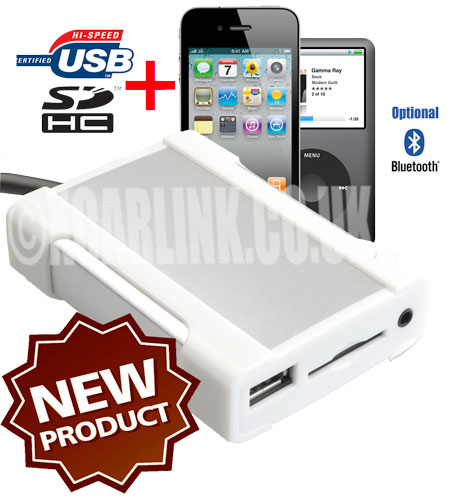 Renault iPod/iPhone USB SD MP3 AUX New All In One Interface 2009>
