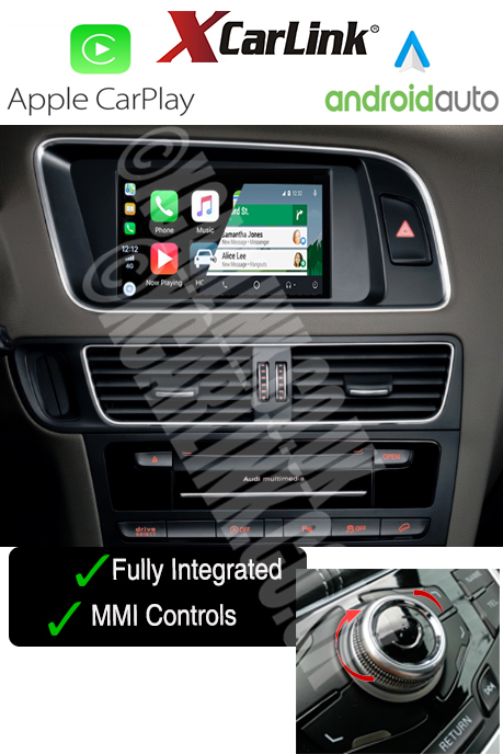 audi a4 a5 q5 mmi apple carplay android auto multimedia. Black Bedroom Furniture Sets. Home Design Ideas