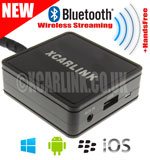 Volvo Wireless Bluetooth Streaming Handsfree Interface