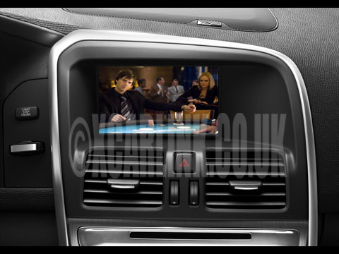 Volvo Multimedia Rear Camera Interface 2010-2014