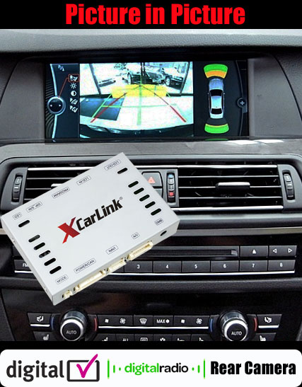BMW iDrive (CIC) Multimedia Video Interface 2009-2013 with PIP + DVB-T/DAB control