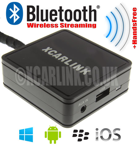 Skoda 12 Pin Wireless Bluetooth Streaming Handsfree Interface