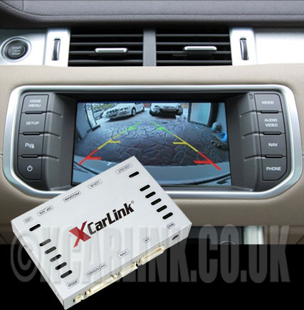 Range Rover Evoque/Sport/Jaguar Multimedia Video Interface Optinal SatNav