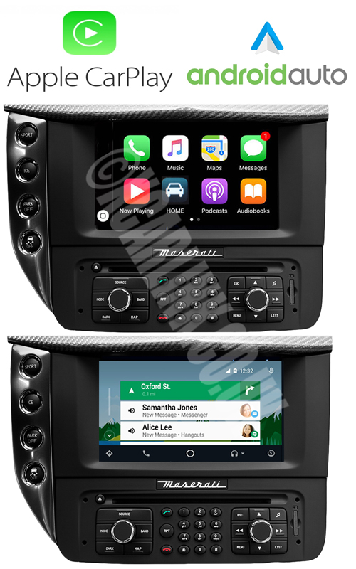 MASERATI GRANTURISMO (GT) Apple CarPlay Android Auto Retrofit Interface Kit