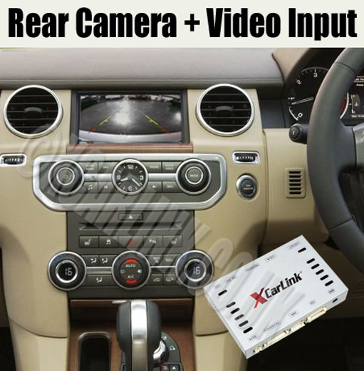 Land Rover / Range Rover Multimedia Rear Camera Interface (Generation 2)