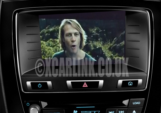 Jaguar XK/XKR 2007-2014 Multimedia Video Rear Camera Interface