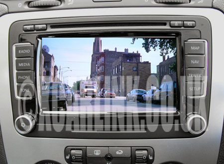VW RNS510 MFD3 Multimedia Video Interface
