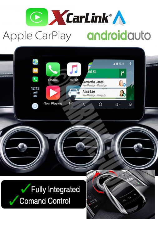 Mercedes NTG 5/5.1 Wireless Apple CarPlay Android Auto Multimedia Retrofit Interface Kit