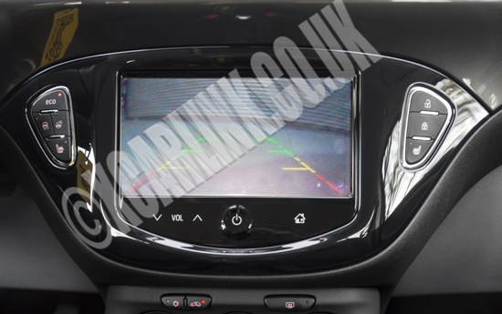 Vauxhall/Opel Corsa IntelliLink Multimedia Rear Camera Interface 2014>