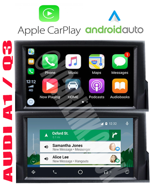 Audi A1 / Q3 Apple CarPlay Android Auto Touch Screen Interface