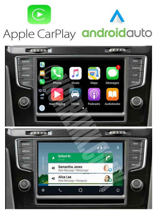 VW (VAG) MIB I/II Apple CarPlay Android Auto Retrofit Interface