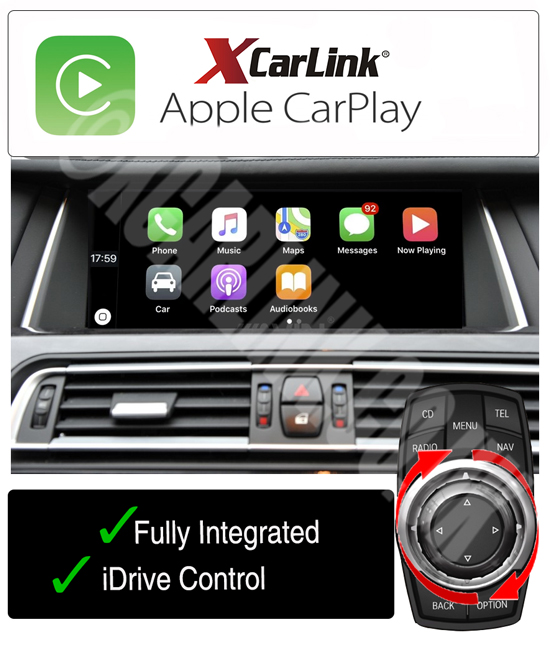 BMW CIC Apple CarPlay USB Multimedia Retrofit Interface Kit