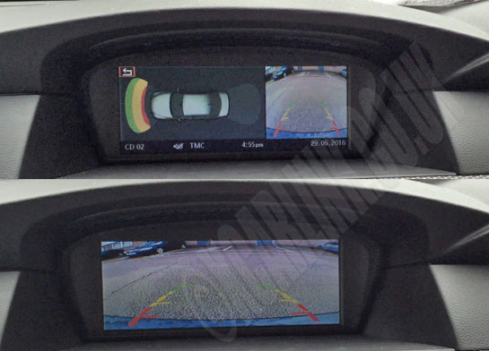 BMW iDrive (CCC) Picture in Picture Multimedia Video Interface