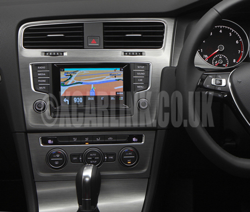 VW Golf Mark VII 7 SatNav GPS Multimedia Rear Camera Interface