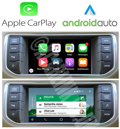 Range Rover/Land Rover/Jaguar 2014> Apple CarPlay Android Auto Interface Kit