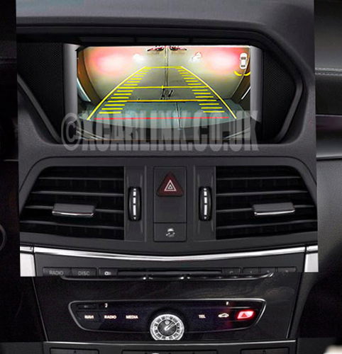 Mercedes NTG4.5 Rear & Front Camera Multimedia Interface with Dynamic Guidelines