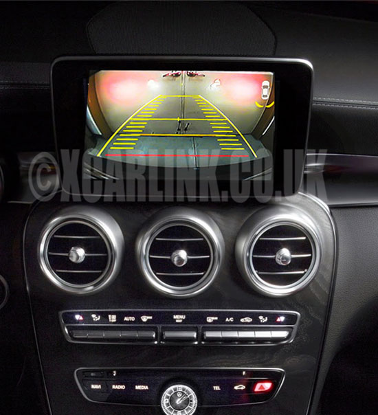 Mercedes NTG5 Rear & Front Camera Interface with Dynamic Guidelines