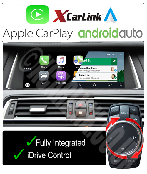 BMW NBT Apple CarPlay Android Auto Multimedia Retrofit Interface Kit