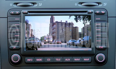 VW MFD2 Multimedia Video Interface